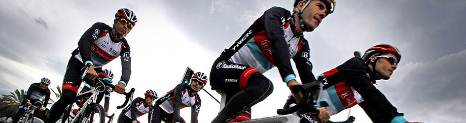maglia ciclismo Radioshack manica lunga