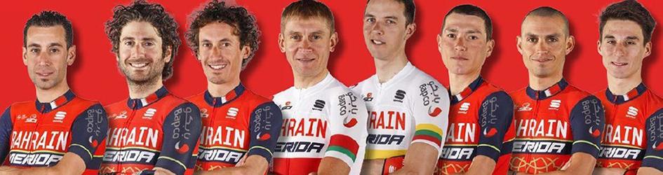 Maglia ciclismo Bahrain-Merida manica lunga