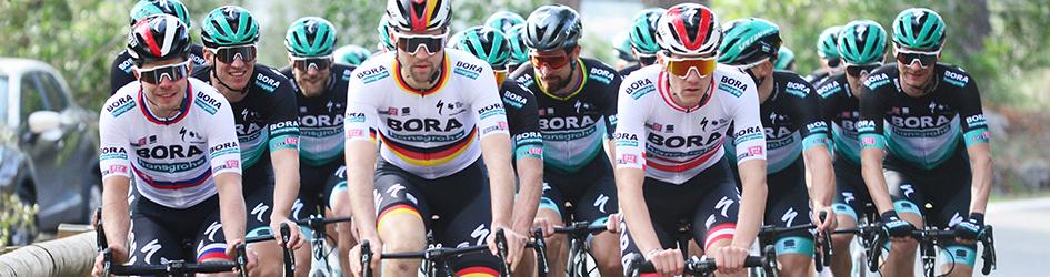 Maglia ciclismo Bora manica lunga