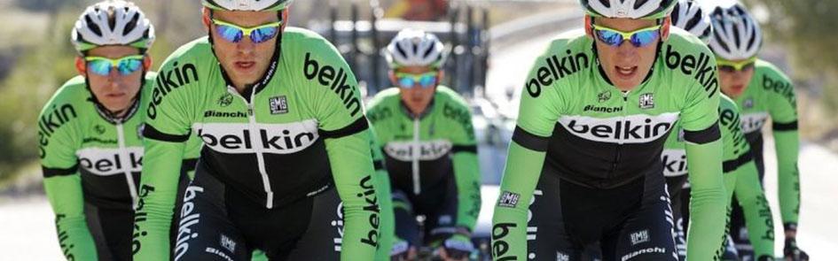 maglia ciclismo Belkin manica corta