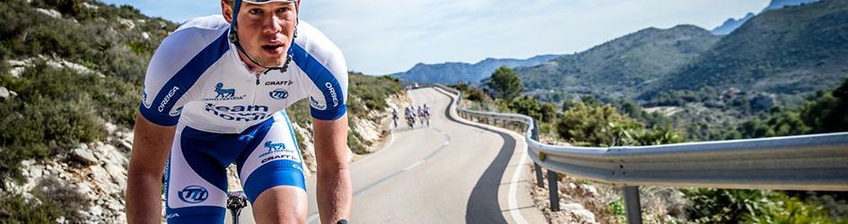 maglia ciclismo Novo Nordisk manica lunga
