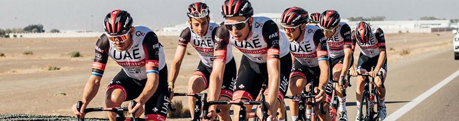 maglia ciclismo UAE manica lunga